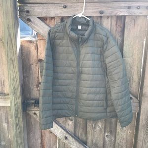 Old Navy green puffer winter coat size XXL